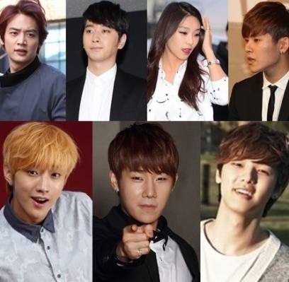 2PM,Chansung,B1A4,Jinyoung,Minho-,Minhyuk,CNBLUE,Minhyuk,INFINITE,Sunggyu,Hoya,SHINee,SISTAR,Bora,SISTAR19