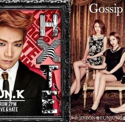 2PM,JunK,Big-Bang,T-ara