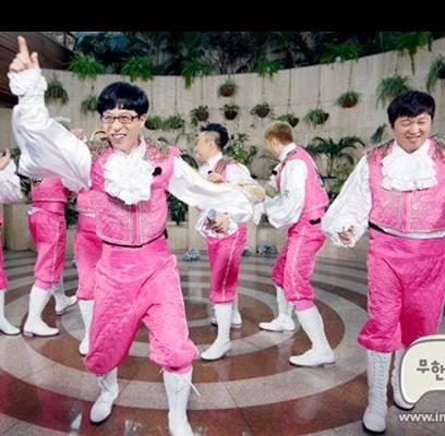 Noh-Hong-Chul,Jung-Jun-Ha,HaHa,Jung-Hyung-Don,Yoo-Jae-Suk,duble-sidekick,park-myung-soo