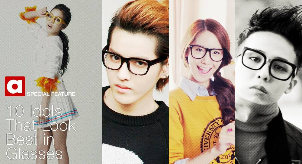 10 Idols That Look Best in Glasses | allkpop.com