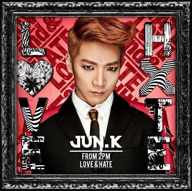 2PM Jun.K's 'Love & Hate' album lands at #1 on Oricon Chart + Tower Records