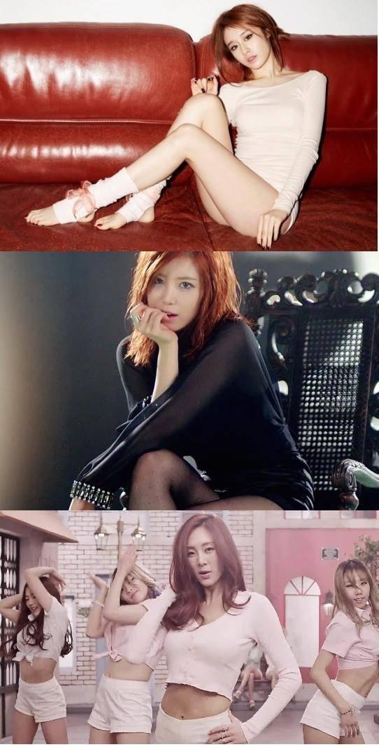 SECRET, Hyosung, T-ara, Jiyeon, G.NA, Duble Sidekick