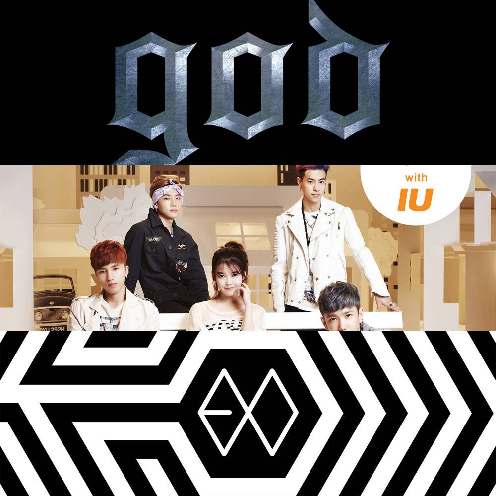 g.o.d, HIGH4 + IU, and EXO-K top Instiz chart for second week of May 2014