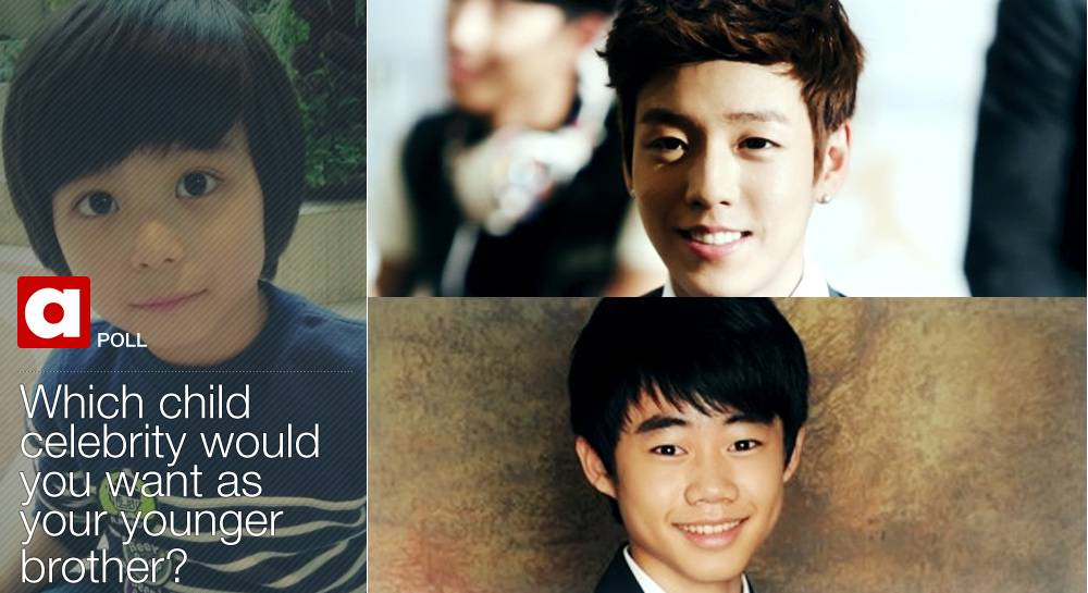 POLL] Which child celebrity would you want as your younger brother