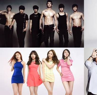 2PM,CNBLUE,Girls-Day,SISTAR,Baek-Ji-Young,dynamic-duo