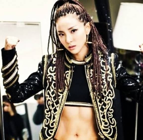 2NE1 - Magazine cover