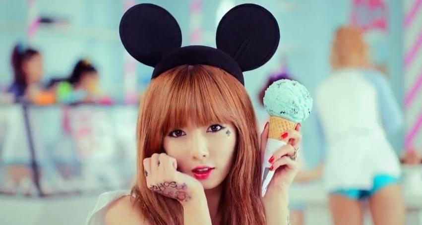 4minute, HyunA