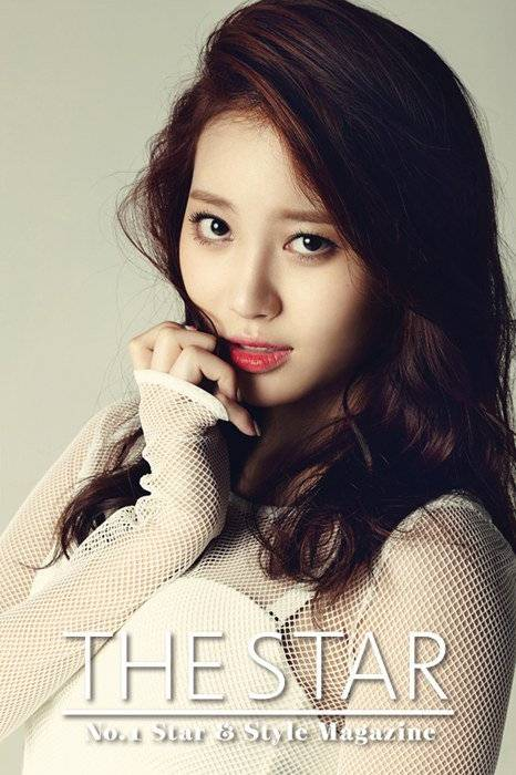 Girl s Day s Yura is sexy in white for  The Star  magazine   allkpop