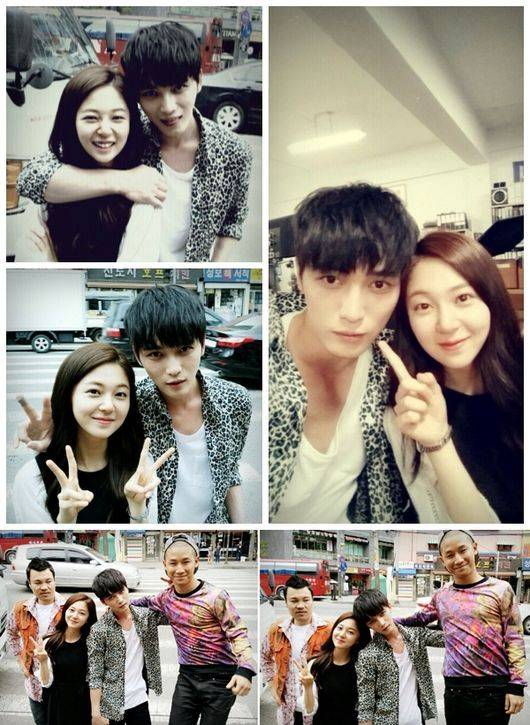 Jaejoong Girlfriend 2014 'Triangle' couple Baek...