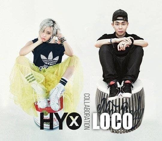 T-ara, Hyomin, LOCO