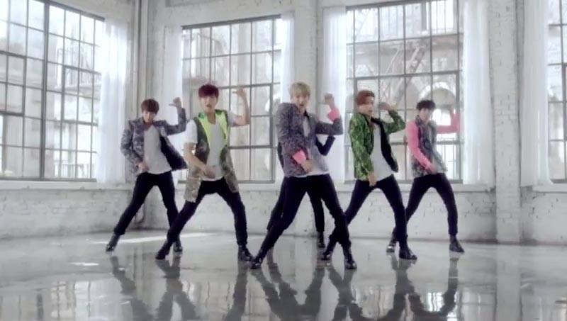 U-KISS sings 'Love On U' in Japanese short PV