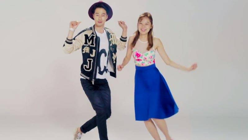gong hyo jin and jo in sung dance together in teasers for. Black Bedroom Furniture Sets. Home Design Ideas