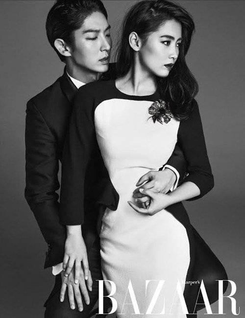 joseon gunman actors lee jun ki and nam sang mi show off