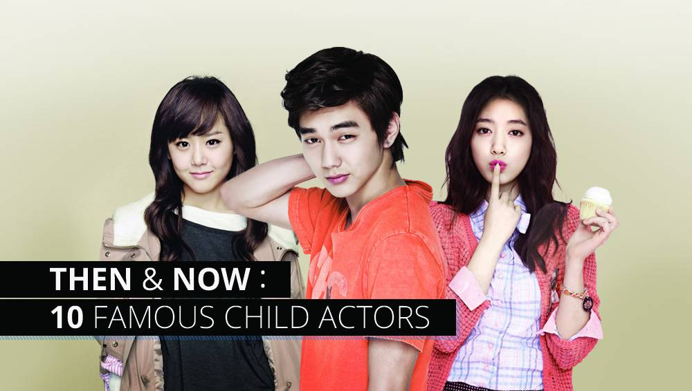Then and Now: 10 Famous Child Actors | allkpop