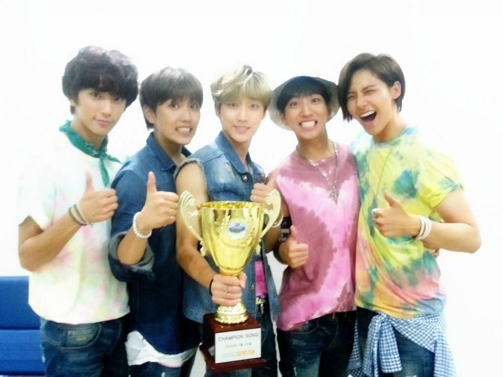 B1A4 win with  Solo Day  on    B1a4 2014 Solo Day