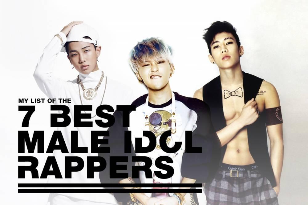 Baro, Bang Yong Guk, Zelo, Junhyung, T.O.P, G-Dragon, Zico, Jay Park, Rap Monster