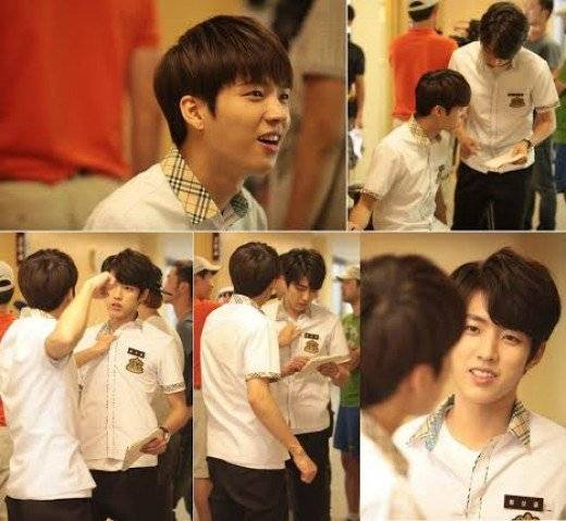 INFINITE's Woohyun and Sungyeol spotted practicing their ...