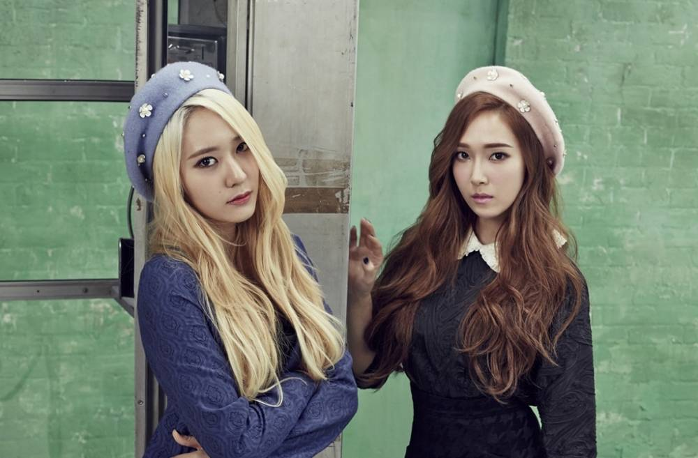 Jessica and Krystal are the new faces of fashion brand ... F(x) Krystal And Jessica
