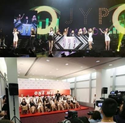 2AM,2PM,miss-A,15,baek-ah-yeon,jy-park,sunmi,got7,hatfelt