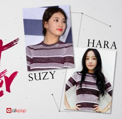 KARA,Hara,miss-A,Suzy
