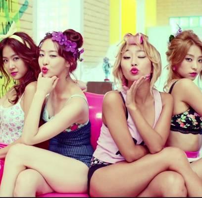 HyunA,B1A4,Block-B,C-CLOWN,SECRET,Taemin,SISTAR,heyne,ladies-code,bestie,tasty,airplane,wings,big-boys-in-groove,lukus,lucky-j,play-the-siren,red-velvet,moses