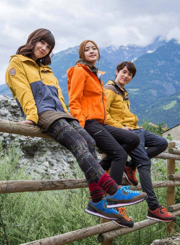 A Pink's Na-Eun, Eunji, and ZE:A's Siwan head to the Alps for 'M-LIMITED'