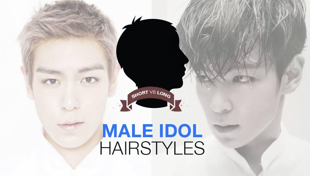 [POLL] Short Vs. Long: Male Idol Hairstyles