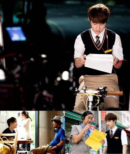 EXO's D.O. works hard behind the scenes of 'It's Okay, That's Love'