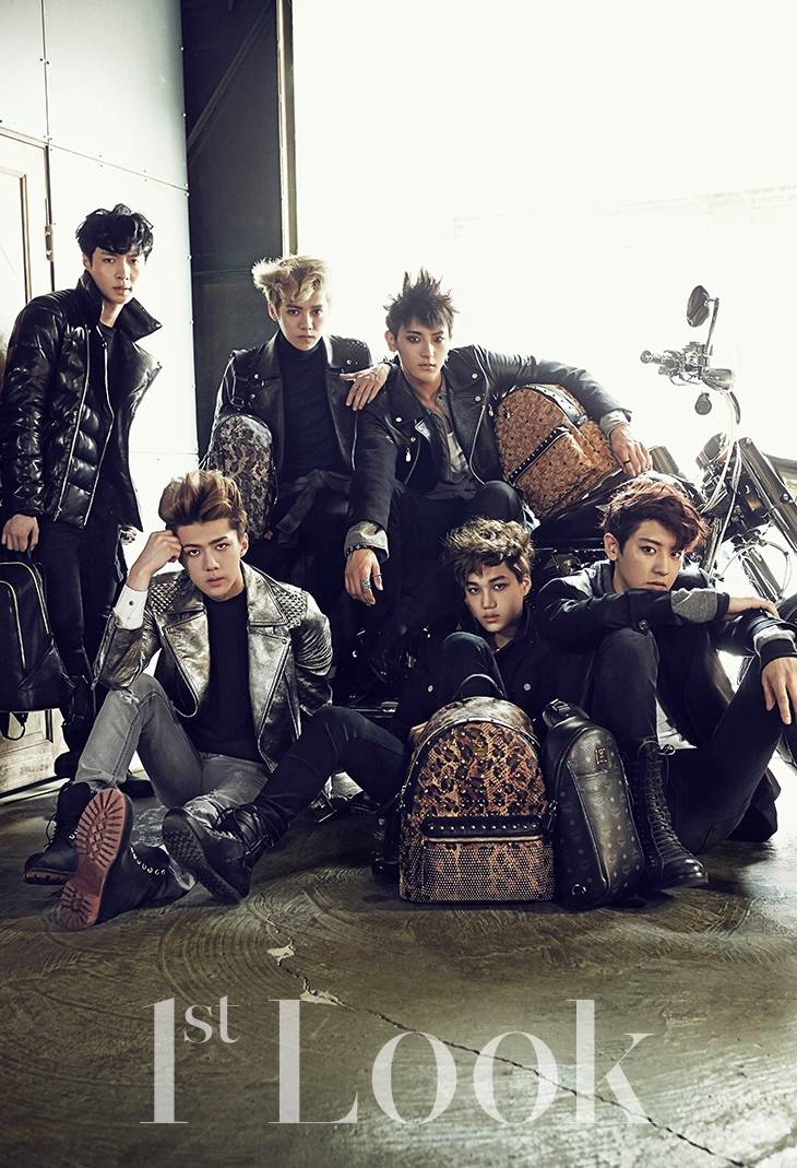 updated exo leave fans swooning as hot bikers for 1st
