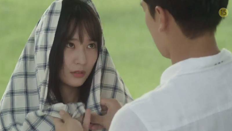Rain and Krystal couple up for My Lovely Girl poster