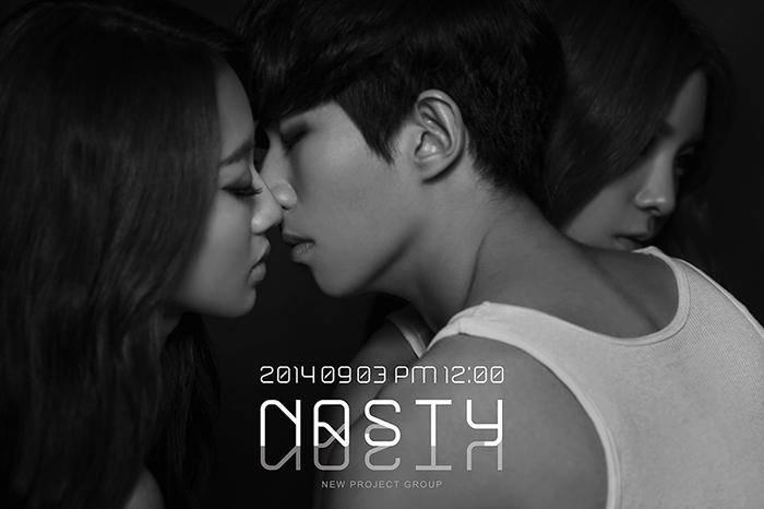 Nine Muses, Kyung Li, Kevin, ZE:A, Kevin, NASTY NASTY