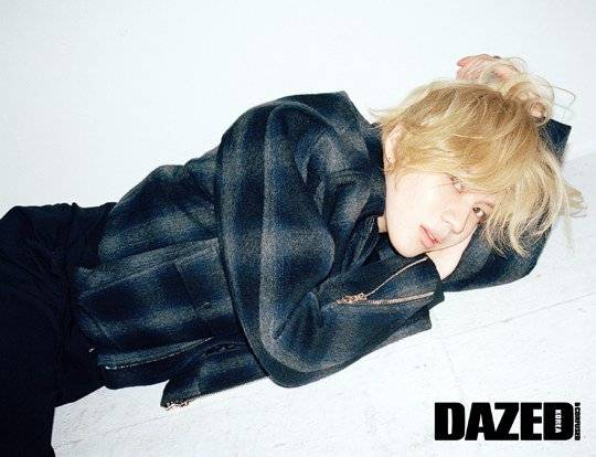 Taemin is full of charisma for his 'Dazed and Confused' pictorial