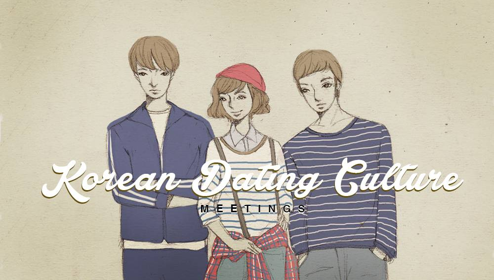 korean culture and dating