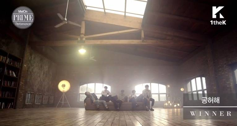 Winner perform 39 empty 39 for 1thek 39 s new 39 prime 39 series for Living together in empty room ep 10