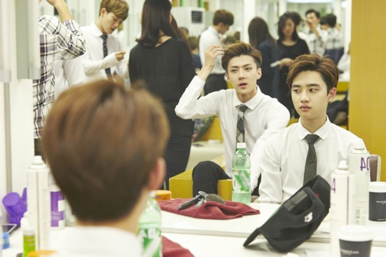 Boys Press Conference Waiting Room