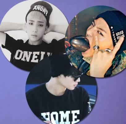 B1A4,Baro,B2ST,Kikwang,Big-Bang,G-Dragon,BTOB,Ilhoon,Xiumin,JYJ,Jaejoong,SHINee,Taemin,got7,bambam