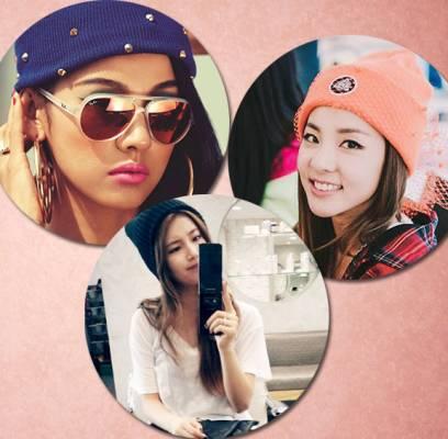 Lee-Hyori,2NE1,Dara,4minute,HyunA,fx,Krystal,miss-A,Suzy,SISTAR,Bora,Girls-Generation,Tiffany,T-ara,Wonder-Girls,Sohee,IU