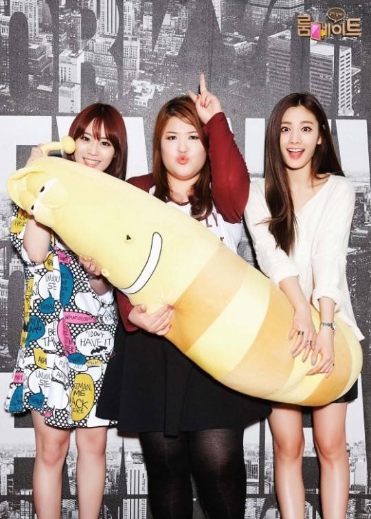 After School, Nana, Orange Caramel, KARA, Youngji, Lee Kuk Ju