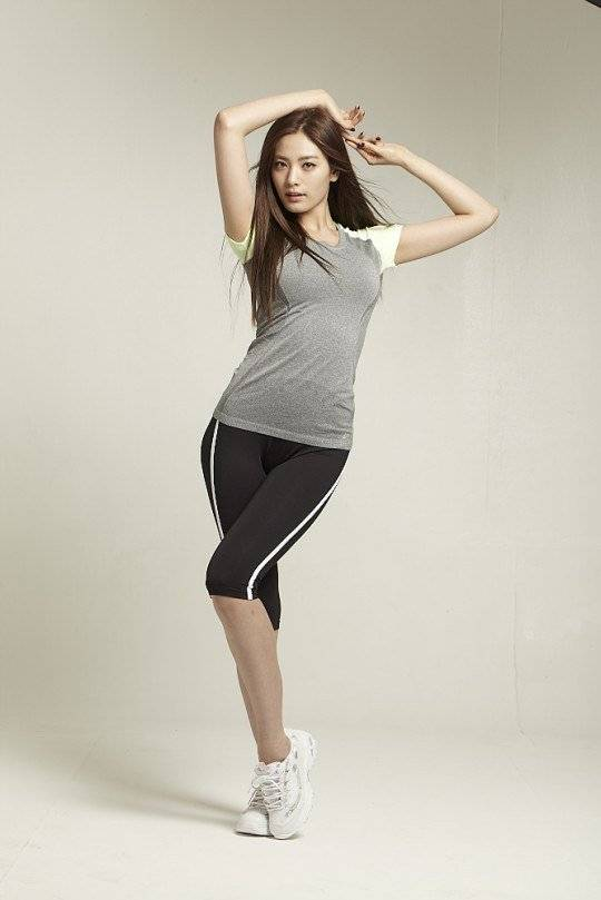 After School S Nana Shows Off Her Leggings Fashion For