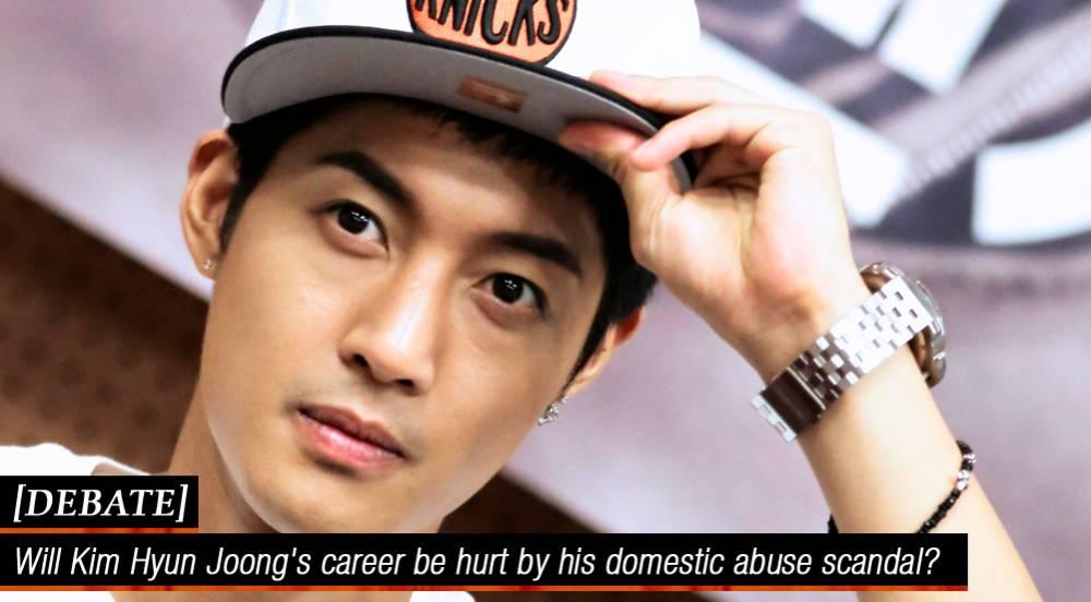 Kim Hyun Joong Yes i Will Debate Will Kim Hyun Joong's