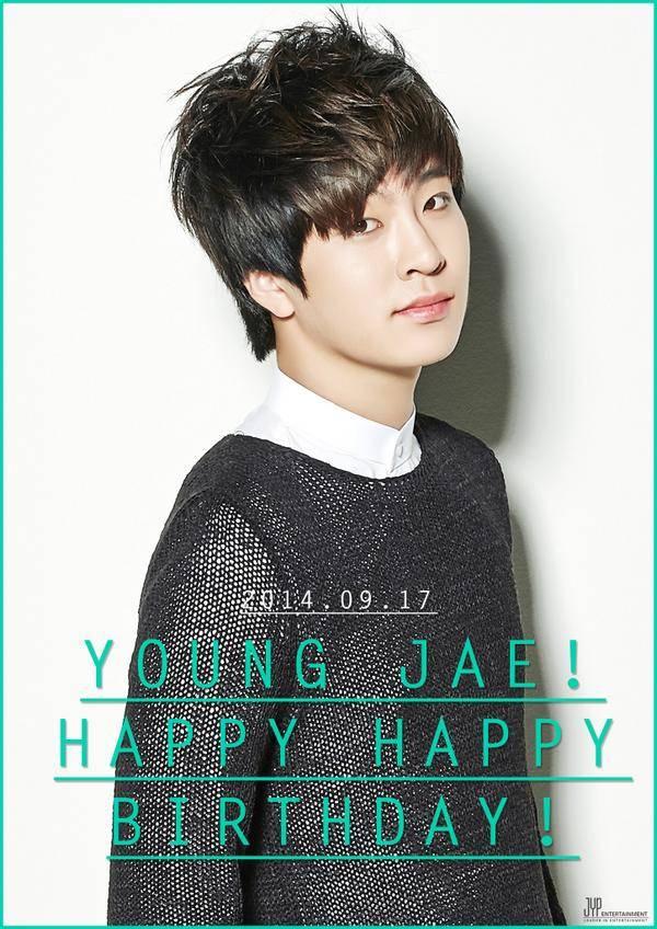 jyp entertainment wishes got7 u0026 39 s youngjae happy birthday