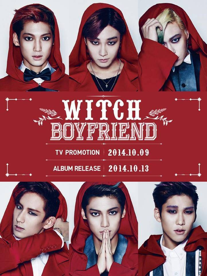 Boyfriend take on red riding hood concept for 'Witch' comeback!