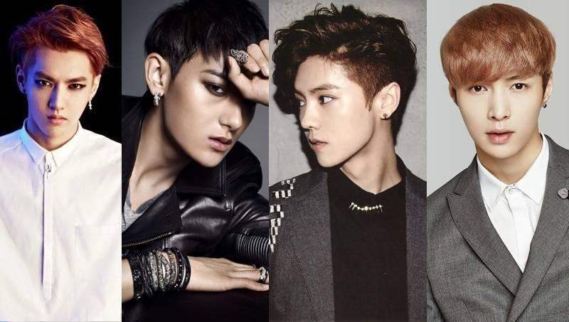 EXO,Luhan,Tao,Lay,kris