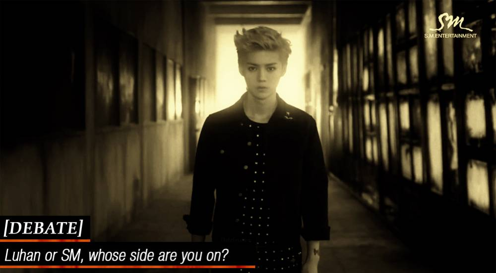 [DEBATE] Luhan or SM, whose side are you on?