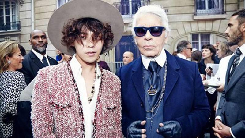 G-Dragon and Mizuhara Kiko spotted at 'Chanel 2015 S/S ...  G Dragon And Kiko Mizuhara 2017