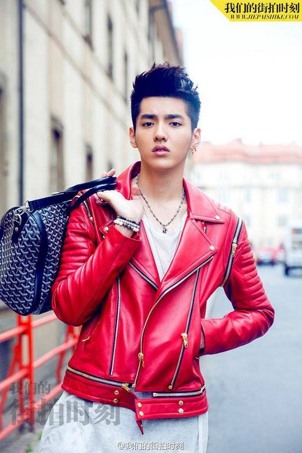 Kris models for 'Our Street Style,' is cast in new Chinese ...