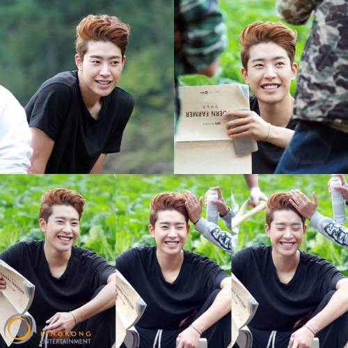 Park Min Woo gives fan service with his wink and dimples ...  Modern