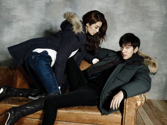 Lee Min Ho Bundles Up For Guess F W Collection Allkpop
