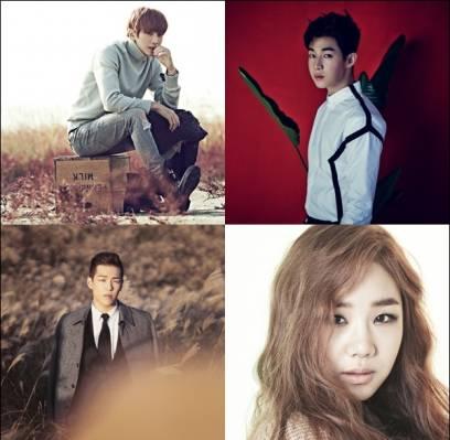 B1A4,Jinyoung,super-junior-m,henry,ulala-session,yoo-sung-eun,min-hyo-rin
