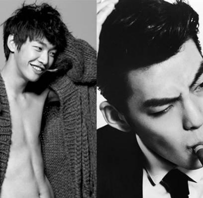 Kim Ji Won And Lee Jong Suk Park Shin Hye and Lee Jong Suk look into each other's eyes in ...
